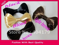 Wholesale and Retail wig hairband bow design hairclip gaga fashion headband for party  colors assorted 12pcs/lot