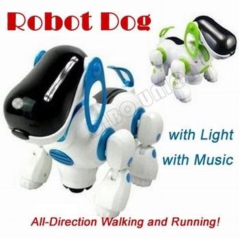 Free Shipping/New Cute Robot Dog/Electronic Dog/i-ROBOT Doggie Pet/One Piece Toy, Christmas Gift Kids/Baby/Children, 80201