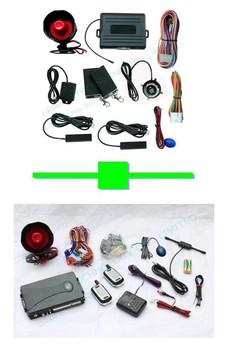 1 pcs push button engine start /PKE car alarm FS-58 keyless go + 1 pcs two way car alarm FM A3 no engine start range:1000 meter