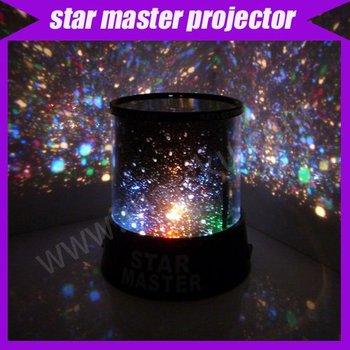 new novelty items new amazing LED star master light star projector led night light #301