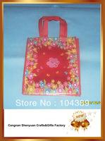 flower nonwoven shopping bag