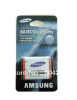 Free shipping+1PCS 0837B SLB-0837B 750mAh battery for SAM NV8 NV10 NV15 NV20 L70 L83T L201