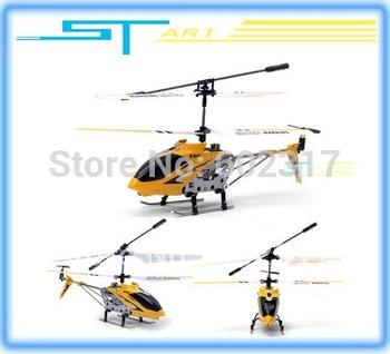 2pcs Syma S107 Metal 3.5ch R/C Mini Helicopter 3 Channel Micro RC plane RTF with flashlights usb charger