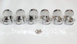 high quality 3L+3R Chrome guitar tuning pegs machince heads 1set(China (Mainland))
