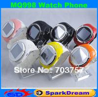 MQ998 Watch Phone Quad Band Single Card Single Standby Pinhole Camera Bluetooth 1.5-inch Touch Screen Watch Phone