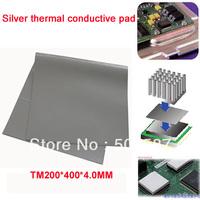 Wholesale! Lot of 2pcs 4.0MM VGA CPU Chipset Thermal conductive Pad Grease heatsink