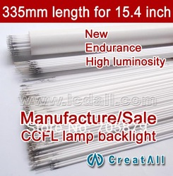 new LCD CCFL lamp ccfl backlight for 15.4inch wide screen Lcd monitor 335mm(China (Mainland))