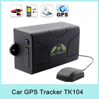 Gsm Gprs Gps Tracker For Car Auto Standby 60 Days Quad-band Sirf3 Chip Gps Tracking System Tk104 Drop Shipping New 2014