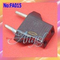 Wholesale 1000pcs/lot Universal US to EU AC Power Adapter Plug,Europe Converter Travel Plug Adapter,Shipping Via DHL  FA015