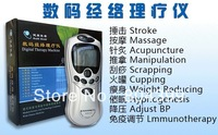 Acupuncture Body Massager Digital Therapy Machine slim massager with AC Power, Free Shipping with new box