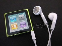 Hot sellinging 6th Gen 8gb 1.8inch Touch Screen MP3/MP4 Clip Player + cable+earphone+Retail package