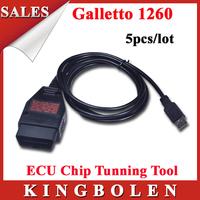 [5pcs/lot]High Quality Galletto 2 Years Warranty Factory Price Galletto 1260 ECU Chip Programmer EOBD2 Galleto 1260 ECU FLASHER