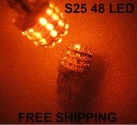 10pcs/lot+free shipping+whole sale+48 LED,3156/3157/1156/1157,car parking light, car turning signal light