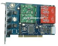 Asterisk card TDM410P 4 Ports 2FXO+2FXS Zaptel Dahdi driver for trixbox elastix