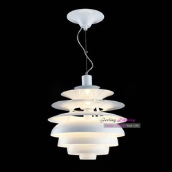 Hot Selling Free Shipping Wholesale Louis Poulsen PH Snowball Lamp Denmark Modern Pendant Light(China (Mainland))