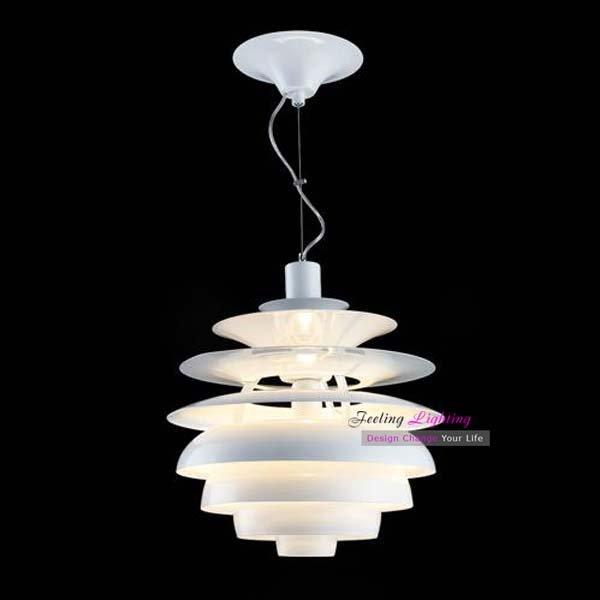 ph moderne sneeuwbal fixture/lamp denemarken moderne hanglamp witte ...