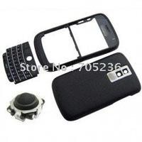 Free Shipping BLACK Housing Set (Black Trackball) for Blackberry Bold 9000 Housing Case for BB9000