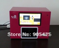 Touch screen Manicure Nail art Equipemnt,Rose,flower,fruit ,egg,mobile printer-Free Shipping