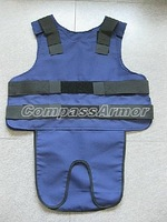 Large Size Concealable bulletproof vest, protection Level IIIA Body Armor for VIP