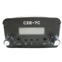 FMUSER  CZH CZE-7C  7W  FM stereo PLL broadcast transmitter 76-108MHZ FREE SHIPPING