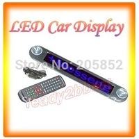 12V LED Message Digital Moving Scrolling Car Sign With BLUE  Light  SMTB0030