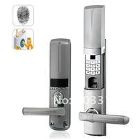 Zinc alloy material  High quality Digital display fingerprint door locks