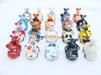 Wholesale 38pcs/lot 19pcs set popobe bear Fashion Car Gloomy Bear Figure Worldwide free shipping