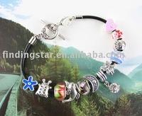 FREE SHIPPING 3PCS European Style FAIRY ON EARTH charm Bracelet #20065