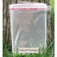 100p/lot flap seal self adhesive poly bag opp clear plastic bag 30*40cm