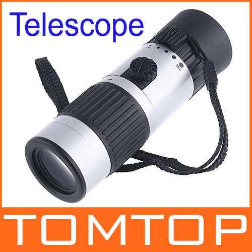 Compact Pocket-Sized 15-55x Mini Zoomable Monocular Telescope, freeshipping, dropshipping(China (Mainland))