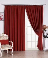 Custom design+Free shipping+cotton/polyester+rod pocket curtains for sale+wholesale/dropship
