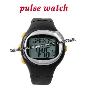 10pcs/lot Popular Pulse Monitor Calories Counter Fitness digital Heart Rate Watch Men woman sport watches