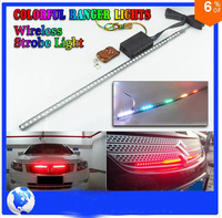 FREE SHIPPING 56cm 48-LED Car knight rider lights 7 Color 5050 SMD