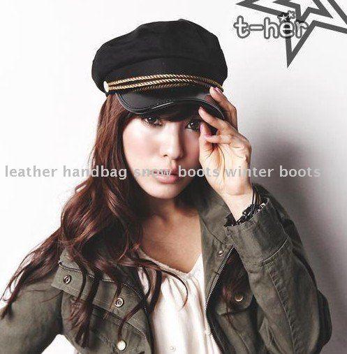 卸売韓国ファッションモデル春海軍帽子、 水兵帽、 フラットハット、 帽子...  卸売韓国ファッ