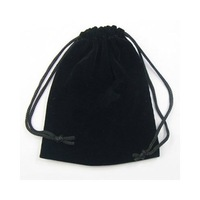 Free Shipping 100pcs/lot Black Velvet Jewelry Gift Bags Pouches 2.5X3.5inch B03