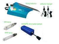 600W grow light kits with wing reflector