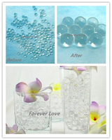 FREE SHIPPING 10 packs (10 packs =1 set) NEW Crystal Jello Wedding Party Shower Table Decor Home Decoration Supplies
