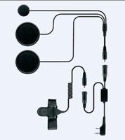 motor helmet  kits earphone K plug  for baofengBF-UV5R,BF888S,tyt,quansheng,wouxun, for driver freeshipping