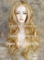 FRENCH LACE FRONT WIG Long Wavy Blonde mix hot sale