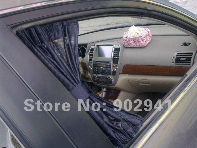 50*47cm 3m voiture orbite sun shade rideau général côté suv auto stores rideau tissu à plat(China (Mainland))