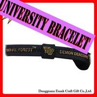 2011 fashion University bracelet,power bracelet-WAKE FOREST-DEMON