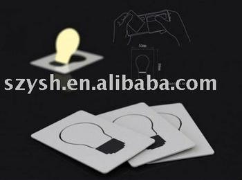 20pcs/lot freeshipping LED night Light mini Card light