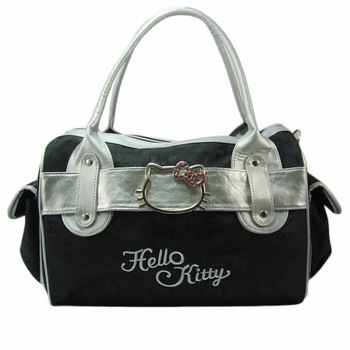 Hello Kitty Handbag Brand New/Make up bag/Lovely hello kitty bag/leather handbag/ch43(high quality+Unique design+free shipping)
