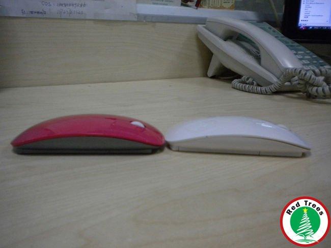 Free Shiping China Post Ultra-thin Magic Mouse Mini wireless mouse 2.4g for computer(China (Mainland))