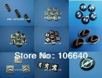 100pcs/lot  VW / Citroen / Peugeot / Opel / Skoda / Seat / Lexus / Fiat / Suzuki car key brand logo sticker badge emblem