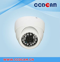 CCTV Dome Camera 600TVL Color Plastic Dome Camera IR LED  indoor Security Camera EC-DC6071IR