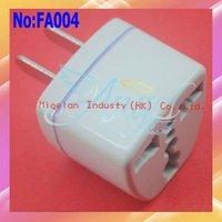20pcs/lot UK/EU/AU TO US Universal AC Power Plug Adapter,USA Transform Travel Adapter Plug #FA004