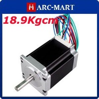 18.9Kgcm CNC Stepper Motor NEMA23 4-Lead 1.8Degre 76mm 10pcs/lot #UC061