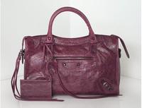 Free Shipping Women's Handbag Motorcycle Bags Lady Fashion Casual Shoulder Faux Leather  Bag Messenger Bag Size M