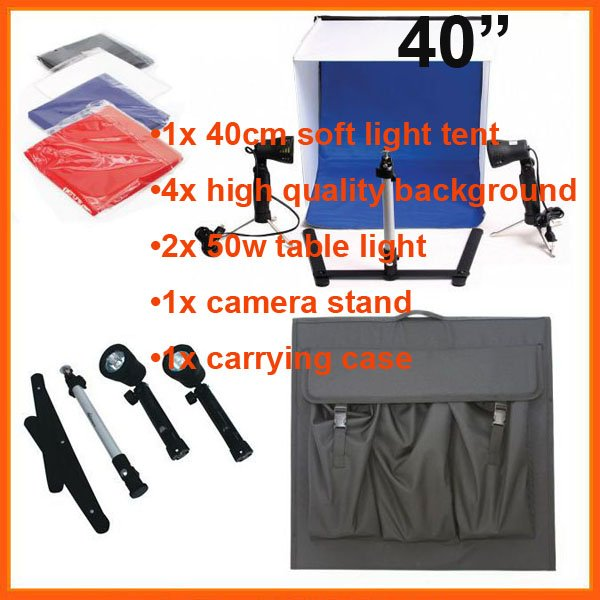 "16"" 2011 PHOTO STUDIO TENT IN A BOX LIGHT CUBE PHOTOGRAPHY(China (Mainland))"